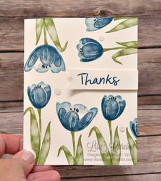 Tranquil Tulips - fun layout! Stampin' Up!, card, paper, craft, scrapbook, rubber stamp, hobby, how to, DIY, handmade, Live with Lisa, Lisa's Stamp Studio, Lisa Curcio, www.lisasstampstudio.com