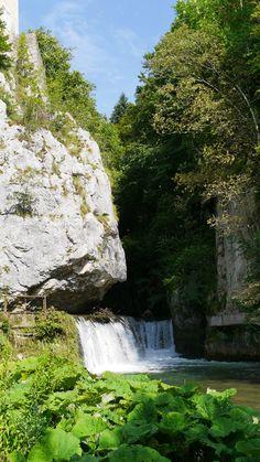 Cascade aux Barraques en Vercors, Rhône-Alpes