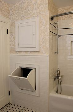 Photo Album For Website Laundry Chute Transitional bathroom ISK Design and Interiors