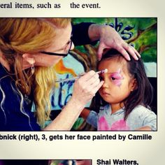 Made the #Malibu #paper #facepainter #facepaint #artist #sweet #butterfly ##preschool #fundraiser #california #pointdune #newspaper #creating #smiles #sparkles #love #creativeworksbycamille #venturacounty Ventura County, Pre School, Newspaper, Fundraising, Sparkles, Butterfly, California, Face, Sweet