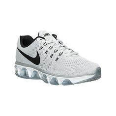 Nike Women's Air Max Tailwind 8 Running Shoes, Grey ($110) ❤ liked on