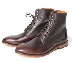 Herman Brown - H by Hudson. #shoes #men #boots