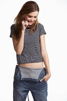 2179f80fff5091 Truly Madly Deeply Fitted Tee. Truly Madly DeeplyDungareesOverallsFashion  OutfitsWomens ...