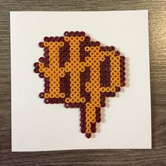 Harry Potter blank card hama beads by PandKCraft