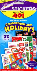 Celebrations & Holidays Value Pack Stickers by Trend