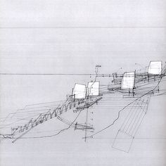 Houses on the Move, Proposal for a Retreating Village, by Smout Allen.