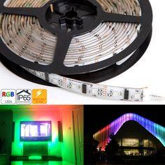 WSDC-RGB150xx series Dream-Color Flexible RGB LED Strip Lights