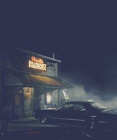 Saving people, hunting things, the family business Sammy Supernatural, Castiel, Supernatural Bunker, Supernatural Quotes, Cinematic Photography, Night Photography, Nocturne, Southern Gothic, Chevy Impala