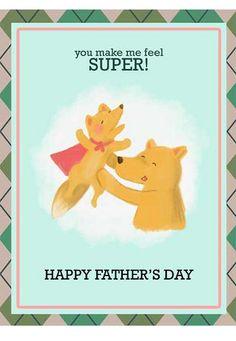 Dad's day card idea