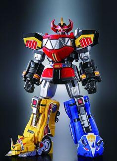 Super Robot Chogokin Produces Megazord