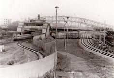 1990 Berlin - Berliner Mauer an der Bornholmer Brücke  ☺