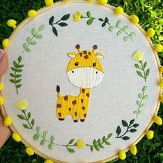 Inspirational recommendations that we definitely like! Embroidery Hoop Crafts, Floral Embroidery Patterns, Hand Embroidery Videos, Hand Embroidery Flowers, Baby Embroidery, Hand Embroidery Stitches, Hand Embroidery Designs, Ribbon Embroidery, Bead Sewing