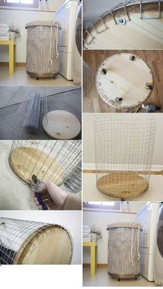 Chicken wire decorations, here are 14 very original ideas … - Trend Kitchen Decoration Furniture Projects, Home Projects, Diy Furniture, Diy Home Crafts, Diy Home Decor, Room Decor, Ideas Hogar, Chicken Wire, Woodworking Projects