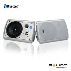 Bluetooth outdoor speaker with long range bluetooth V2.1 + EDR technology. SA-BLAST6-W by Sound Appeal free shipping    AV-Express Wireless Outdoor Speakers, Bluetooth Speakers, Range, Technology, Free Shipping, Music, Stuff To Buy, Tech, Musica