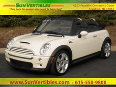 Used 2007 MINI Cooper S Convertible Convertible for sale near you in Franklin, TN. Get more information and car pricing for this vehicle on Autotrader.