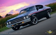 Kevin Oeste owner chose the theme and look for the 1969 Chevrolet Chevelle was a SS 396 with a few updates starting with a set of 17x8 Rocket Racing Wheels Hypershot Boosters with BFGoodrich Tires G Force Sport Comp 2. The guys over at V8 Speed Shop dropped in a thirsty 454 and fed it with a Holley 870. This Chevy Muscle Car is stunning and no doubt a head turner wherever she goes.