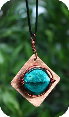 salvaged copper jewellery by Kylie
