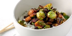 Food Bowl, Kung Pao Chicken, Healthy Recipes, Healthy Food, Vegetables, Cooking, Ethnic Recipes, Brussels Sprouts, Annie
