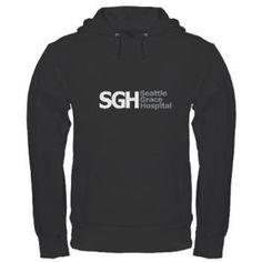 SGH Hoodie (dark)> Seattle Grace Hospital> Grey's Anatomy TV Store