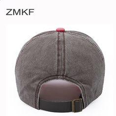 2018 ZMKF New Fashion Berretti da baseball Uomo Donna Cappelli Per Uomo  Casquette Cappello Cotone Vintage 255f3eff0798
