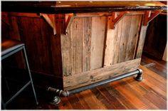 bar foot rail pipe - Google Search