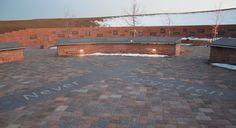 Columbine memorial ~ behind the high school in Littleton, CO.