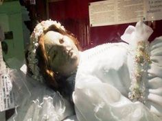 Corpse Of Child Saint Appears To Open Her Eyes In Bone-Chilling Video Taken In Mexico – Abandoned Spaces