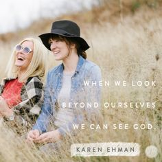 Let's look for God in the necessary people we serve every day. Join Karen Ehman at Proverbs 31, for a devotion on Listen Love Repeat.