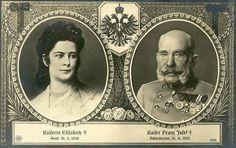 https://flic.kr/p/4TPt6x | Kaiser Franz Josef I. unv Kaiserin Elisabeth von Österreich