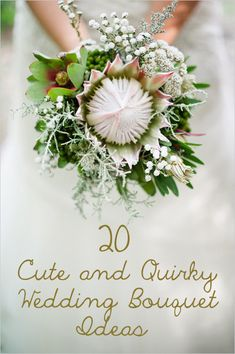20 Cute And Quirky Wedding Bouquet Ideas http://www.buzzfeed.com/alannaokun/cute-and-quirky-wedding-bouquet-ideas