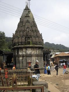 Bhimashankar Temple or Moteshwar Mahadev one of the 12 Jyotirlinga is an ancient temple located in Sahyadri hills in the state of Maharastra , located about 50 km in the village of Bhorgiri from Khed near Pune.