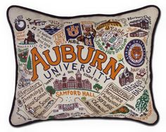 A little touch of Auburn where you rest your head.