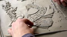 A fascinating documentary film showing how British artist Victoria Ellis carves a fine bas relief figurative clay mural. The film covers the entire process, from…