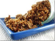 Cinnamon-Coconut Crunch Spent Grain Granola