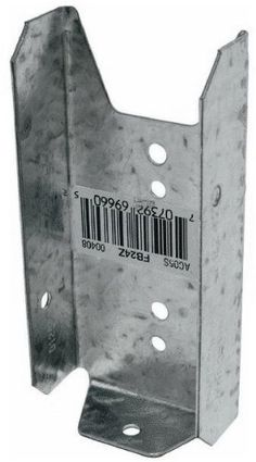 100 Pack Simpson Strong Tie FB24Z 2x4 Fence Bracket 20 gauge Z-Max Finish by Simpson Strong-Tie. $37.50. FB fence brackets make the connection between fence rails and posts simple and strong. Eliminates the need for toe nailing or screwing. Clean, versatile connections make planning and building fences, deck/porch railings and louvers easier and faster.