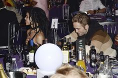 Robert Pattinson and FKA Twigs at MOBO Awards 2015 | POPSUGAR Celebrity