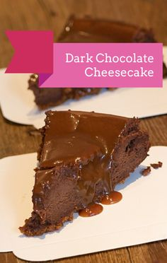 Michael Symon prepared the ultimate dessert recipe on The Chew: A Dark Chocolate Cheesecake!
