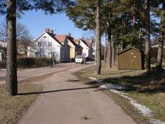 A Mariehamn street.