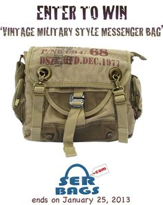 82c688d0f0 Serbags Sweepstakes. Bike Messenger BagsCanvas ...