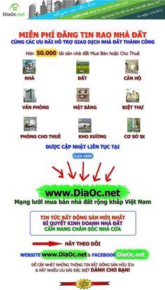 DiaOc.net - Mạng lưới mua bán nhà đất rộng khắp Việt Nam => http://diaoc.net/