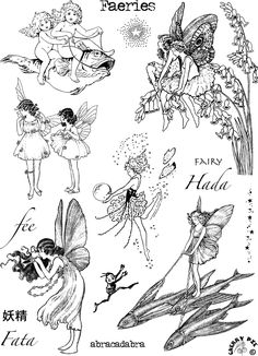 Cute Tattoos, Body Art Tattoos, 3d Tattoos, Sleeve Tattoos, Art Inspo, Pixie Tattoo, Pies Art, Fairy Drawings, Leelah
