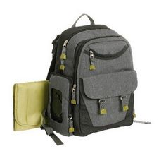7618c6c753 great for on the go summer adventures or even a father s day gift idea. can  use with the ergo baby carrier- Eddie Bauer Flannel Backpack Grey