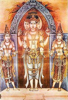 Brahma Sarasvathi Savitri Uttamadasatala by Shilpi Sri Siddalingaswamy of Mysore