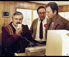 """Star Trek IV: The Voyage Home, I always crack up when I see Scotty grab the mouse and say """"hello computer"""" into it. Mr Scott was trying to tell the computer the matrix for transparent aluminum, that now exists. Another great idea from Star Trek that went from science fiction to reality."""
