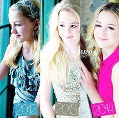 My beautiful Chloe has grown up so much