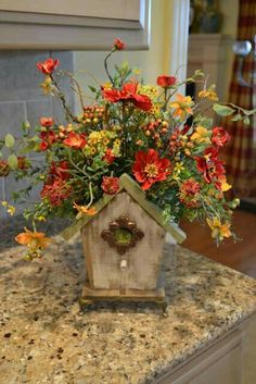 Dried Flowers, Nest, Flower Preservation, Dry Flowers