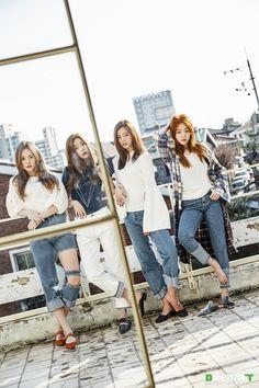 Girls Day Kpop Girl Groups, Korean Girl Groups, Kpop Girls, Jin, Girls Day Minah, Kim Ah Young, Girl's Day Yura, Film Photography Tips, Girls Girls Girls