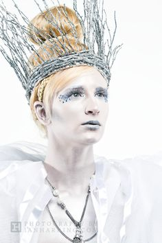 ice makeup | ... of working with sandra cross a very talented make up artist who is