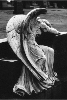 Weeping Angel statues always freak me out. Doctor Who! Cemetery Angels, Cemetery Statues, Cemetery Art, Weeping Angels, Angels Among Us, Angels And Demons, Statue Ange, La Danse Macabre, Angeles