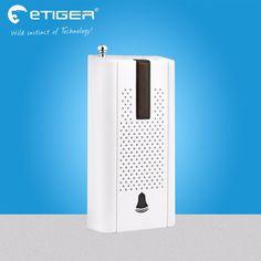 Etiger Wireless Door Window Vibration Detector Shock Sensor For Home Alarm System with Antenna #Affiliate